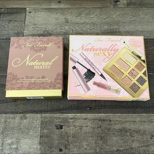 Too Faced Natural/Matte Eye Palettes NWT
